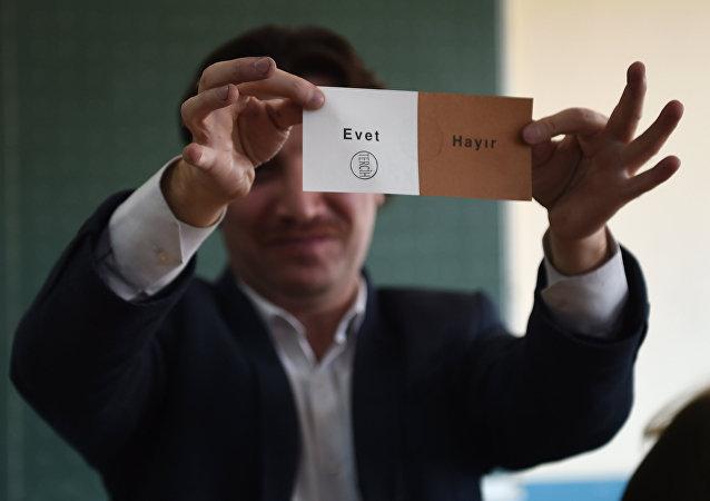 土耳其全民公投