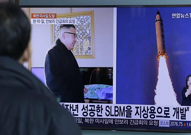 """专家:朝鲜或故意让导弹发射失败以""""保全面子"""