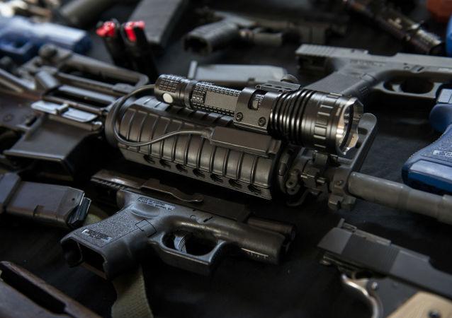 俄查获从欧盟和乌克兰走私武器和爆炸物的大型团伙