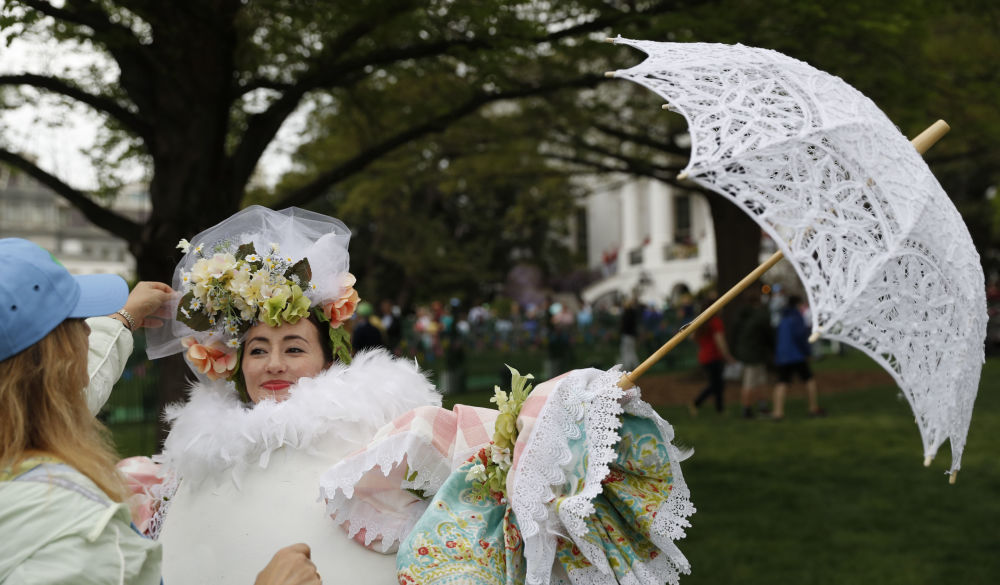 白宫庆祝复活节