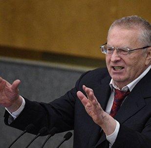 俄罗斯自由民主党领导人日里诺夫斯基