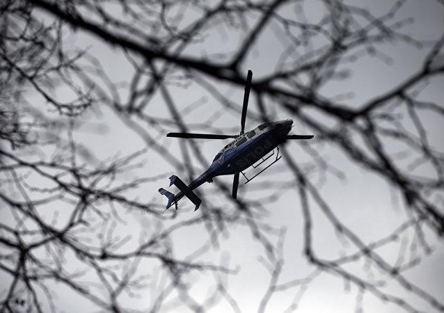 媒体:土耳其警用直升机失事导致7人受伤