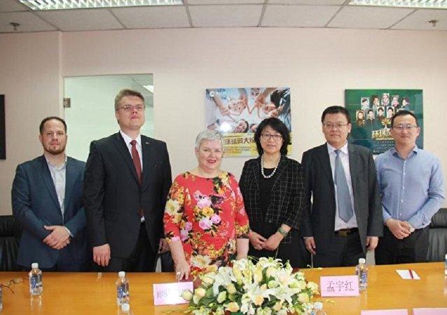 俄罗斯卫星通讯社与中国环球网启动合作