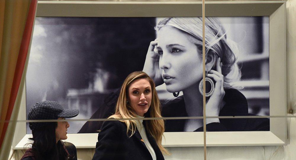 伊万卡·特朗普在华借销售打造美国正面形象