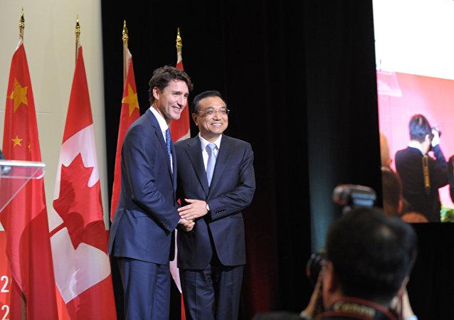 美国促使加拿大同中国实现自由贸易