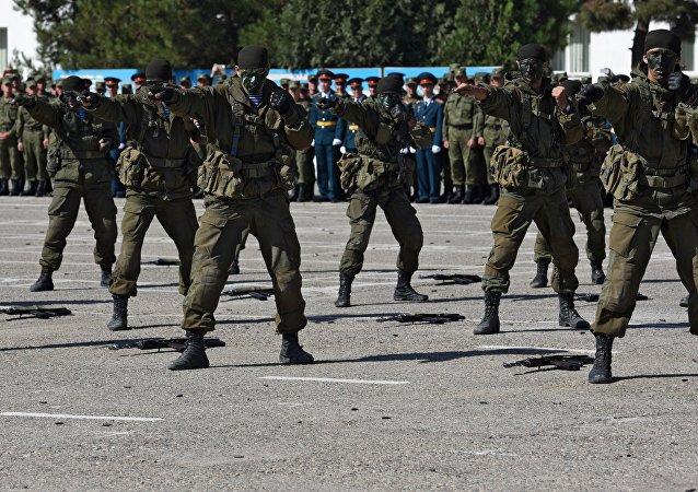 俄驻塔吉克斯坦第201军事基地