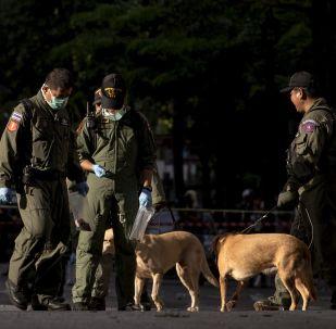 在泰国南部的13起爆炸造成两名武装分子死亡