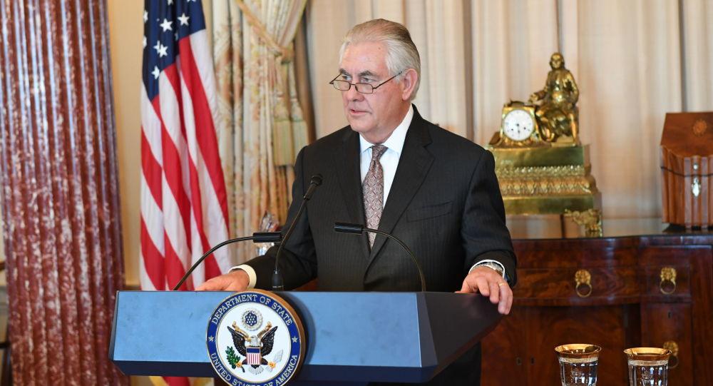 美国务卿蒂勒森