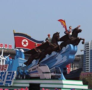 金日成诞辰105周年纪念活动