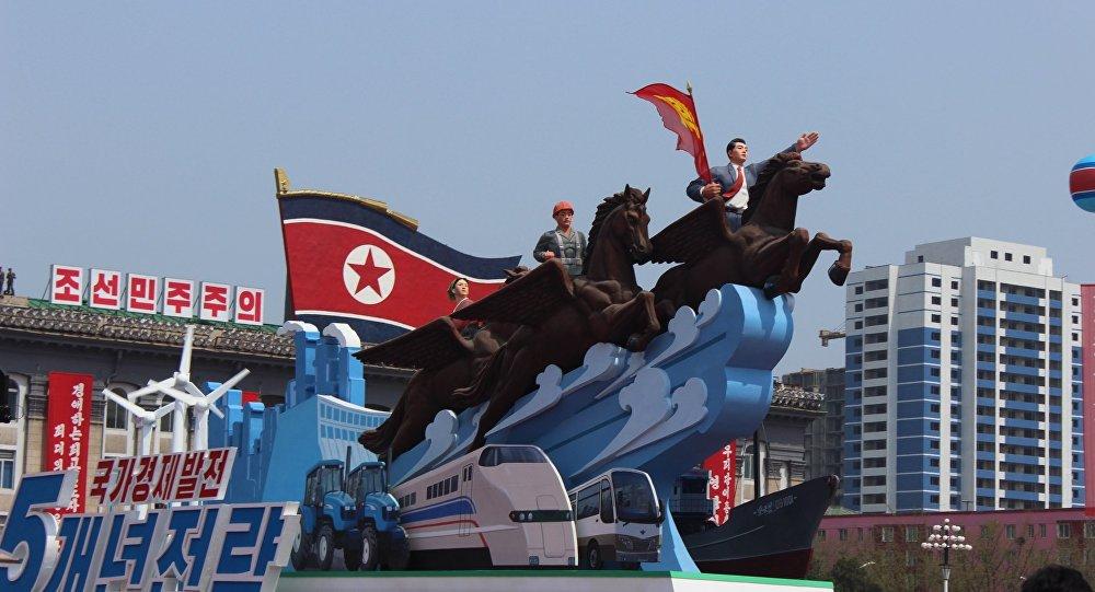 朝鲜, 大阅兵,2017