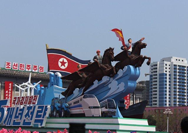 """朝鲜要求解散""""非法的""""联合国军驻韩国司令部"""