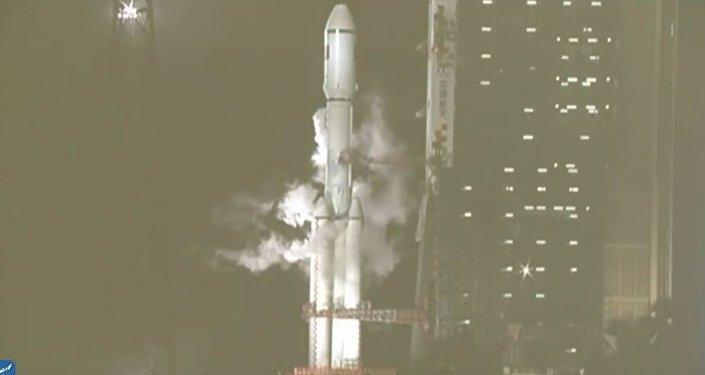 华媒称,天舟一号货运飞船发射。