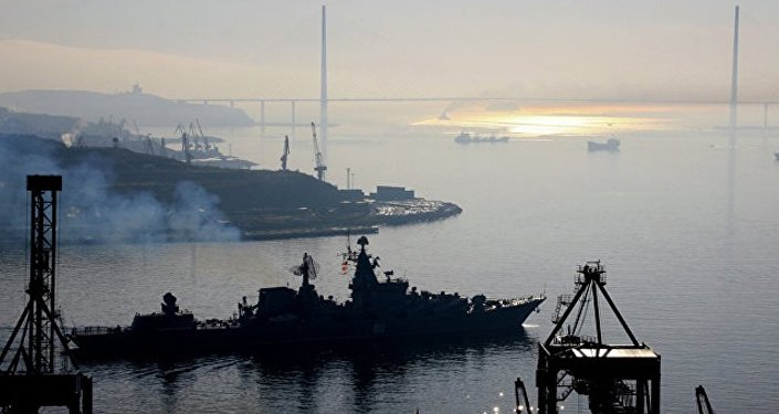 俄太平洋舰队作战舰艇支队抵达马尼拉港对菲海军进行访问