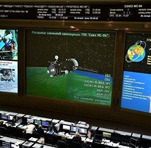 联盟MS-04号飞船的乘组顺利登上国际空间站