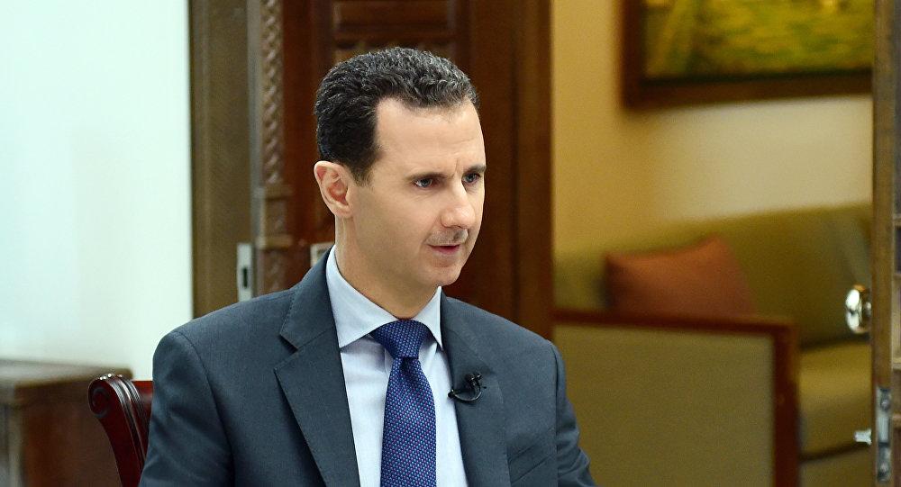 阿萨德:美国将竭尽所能推翻叙利亚政府