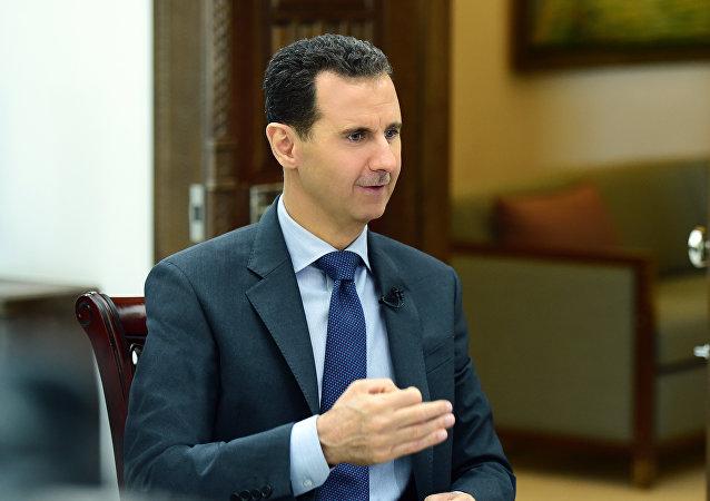 叙利亚总统巴沙尔•阿萨德