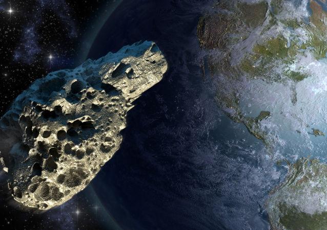 小行星正飞向地球