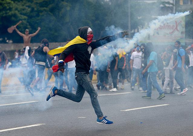 委内瑞拉示威