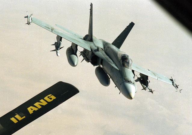 加拿大空军的CF-18战机