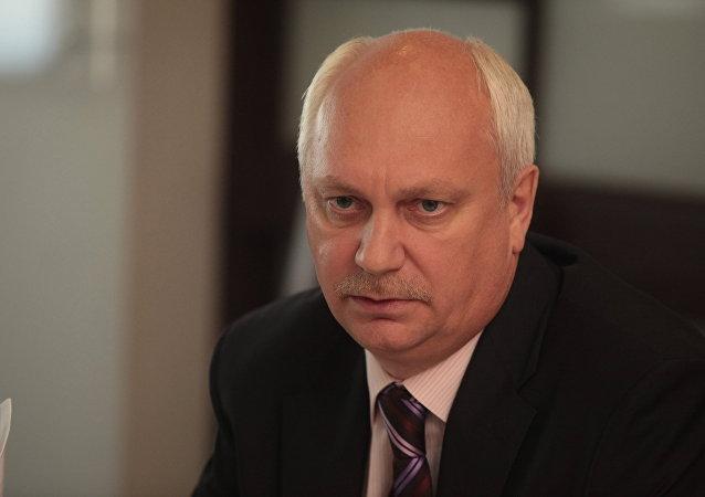 俄罗斯军事总检察长弗里金斯基递交辞呈