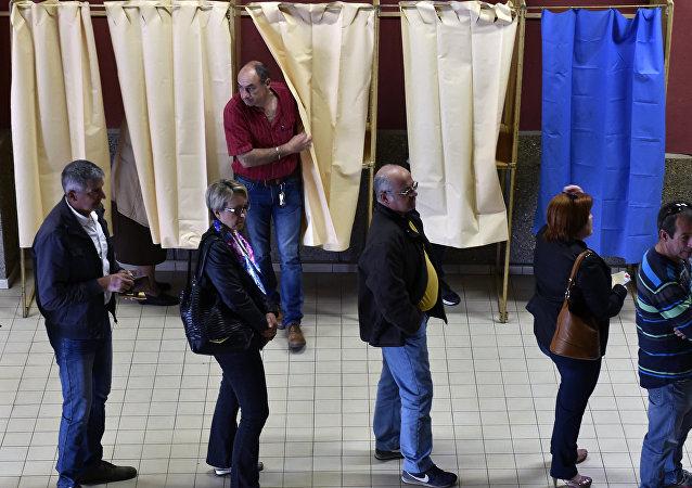法国总统大选的投票