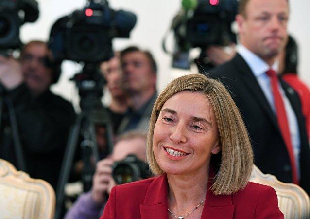 欧盟外长:欧盟对与俄在反恐及解决叙问题上的合作感兴趣