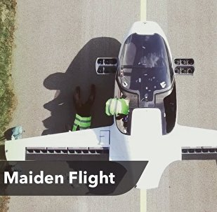 The world's first all-electric VTOL jet