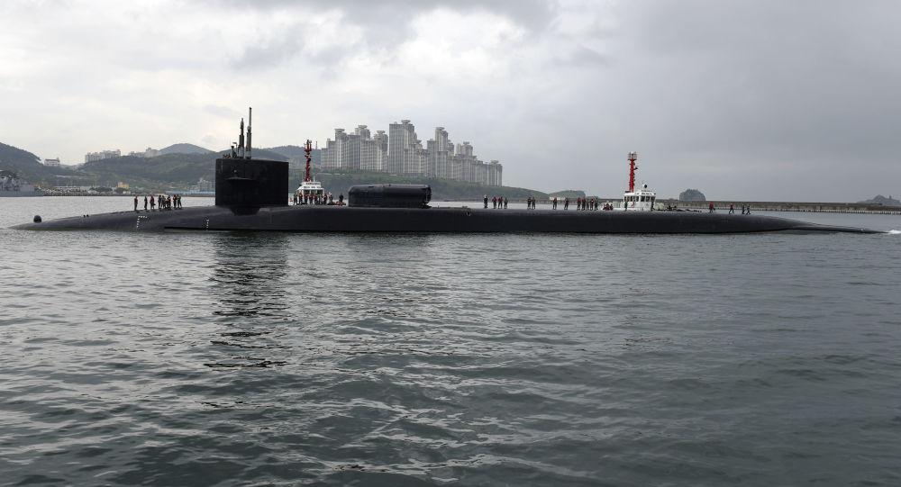 美国俄亥俄级核潜艇