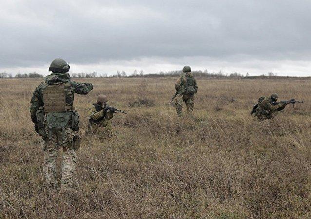 美军教官在乌克兰