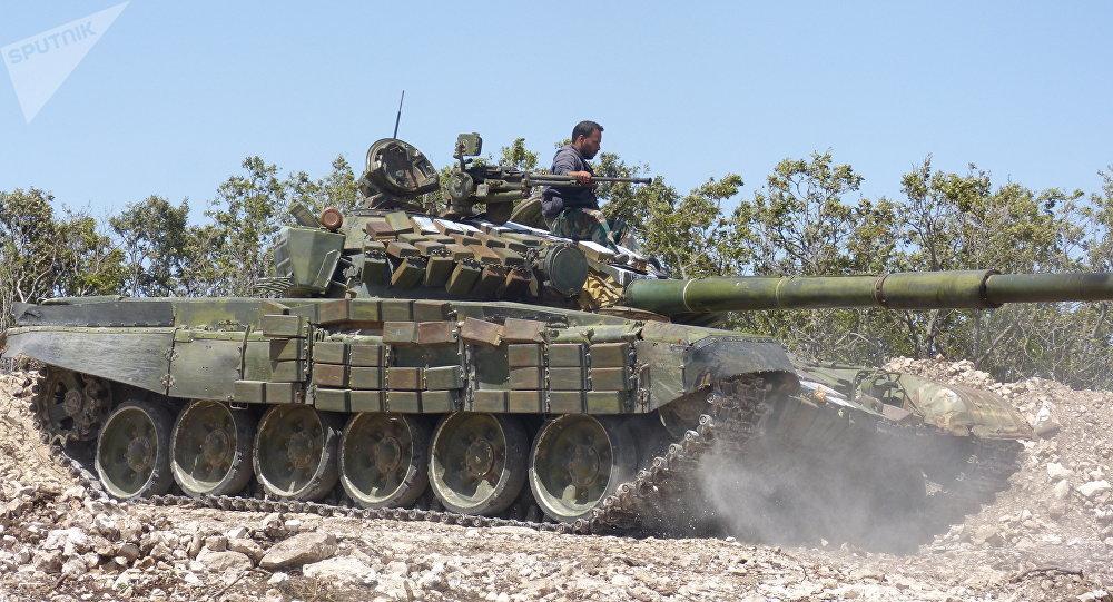 消息人士:叙军从IS手中夺回拉卡省的拉萨夫市及20个村庄