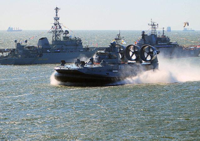 """""""叶夫根尼•科切什科夫""""号小型气垫登陆舰"""