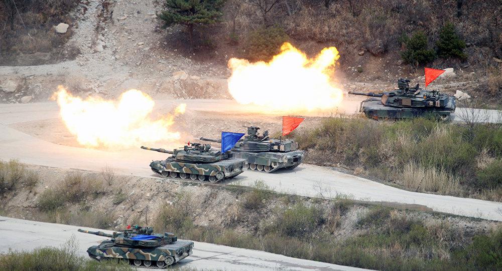 美韩军事演习