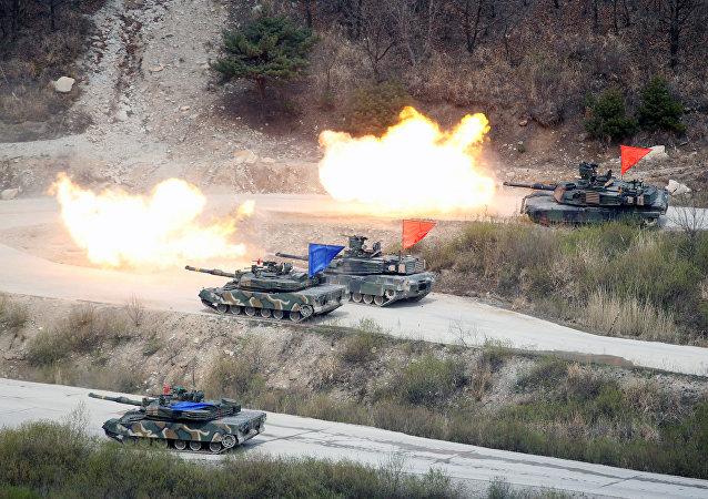 俄副外长:朝鲜不会在美国不断军演之际放弃核武器