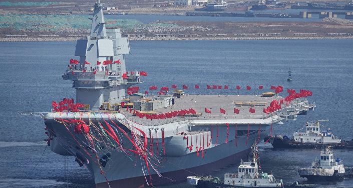 華媒:殲-31隱形戰機或將配備首艘國產航母