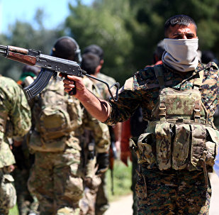 """媒体:库尔德民兵在夺取叙塔布卡市战斗中消灭19名""""伊斯兰国""""武装分子"""