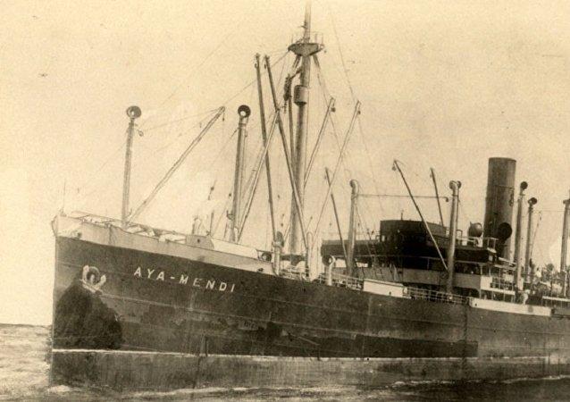 在克里米亚沿岸发现了载有被纳粹掠夺而来的宝物的汽船