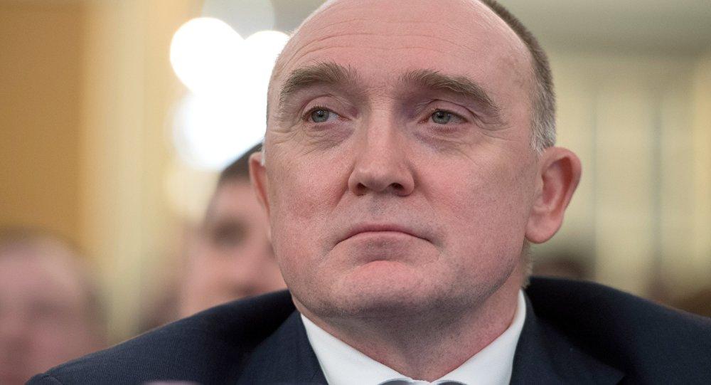 俄罗斯车里雅宾斯克州州长鲍里斯∙杜布罗夫斯基
