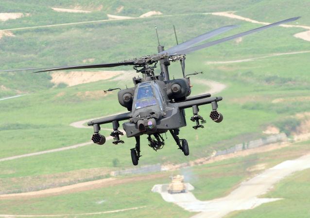 美国海军直升机在关岛失事 无人伤亡