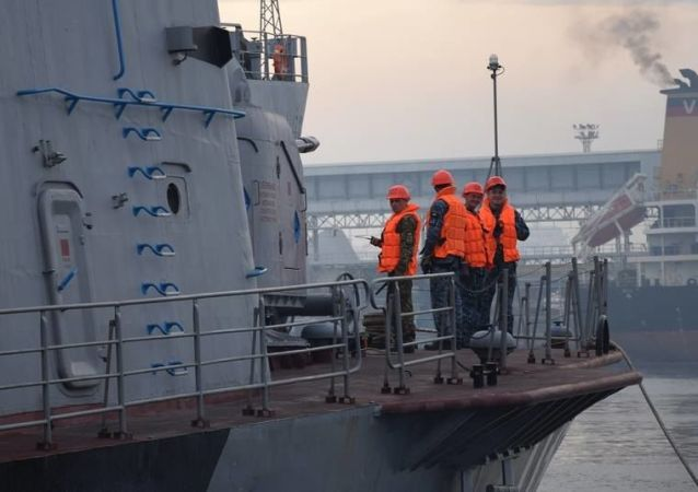 乌土两国海上军事训练