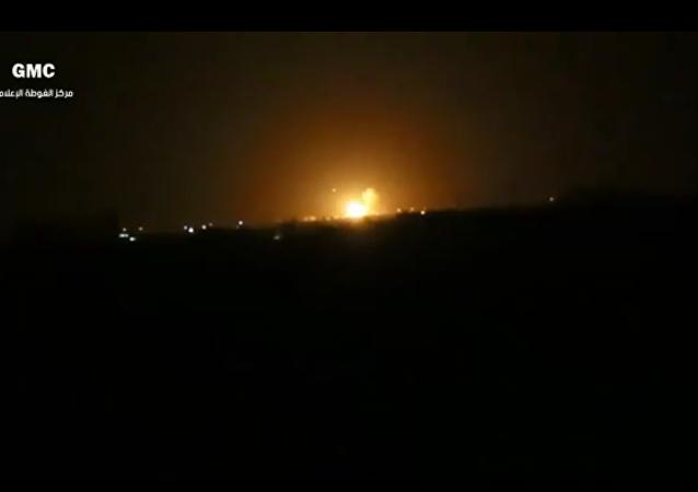 媒体:大马士革机场附近燃料库或者或因以色列空袭所致