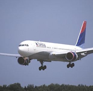 達美航空一航班北京起飛後因發動機故障返航