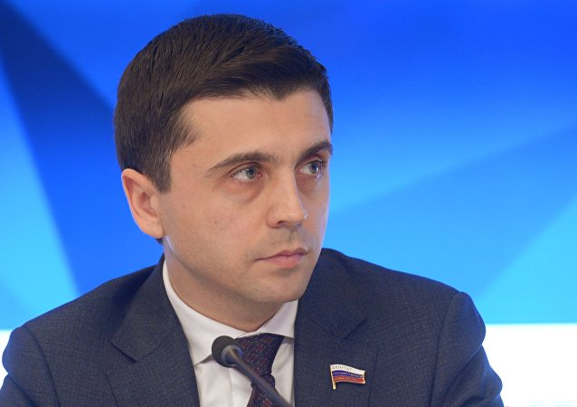 俄罗斯国家杜马克里米亚议员鲁斯兰·巴利别克