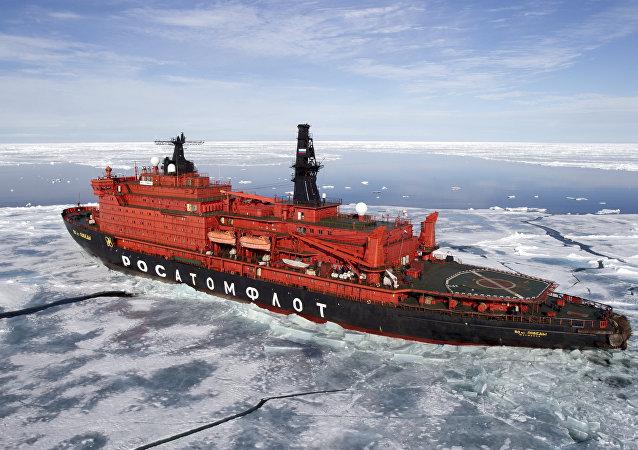 美俄共制定船泊航线应对北极航运增加