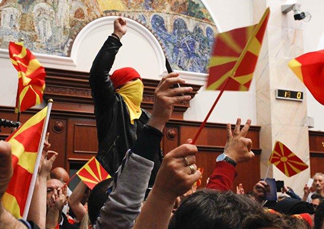 马其顿局势