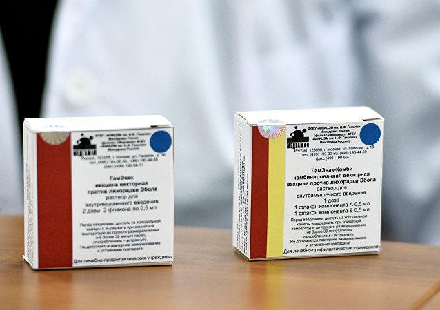 千余支俄埃博拉疫苗将于一个半月内运至几内亚