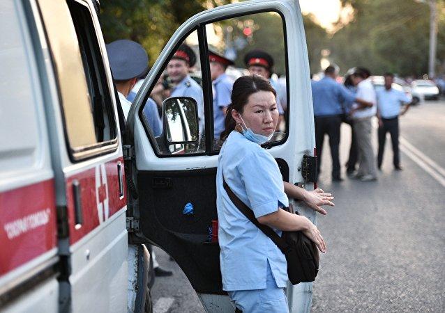 吉尔吉斯斯坦急救车