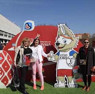 在莫斯科开设了联合会杯公园