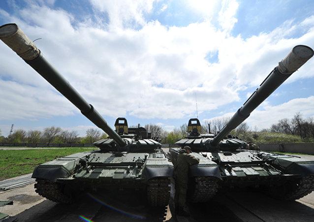 T-72B3 竞技型坦克