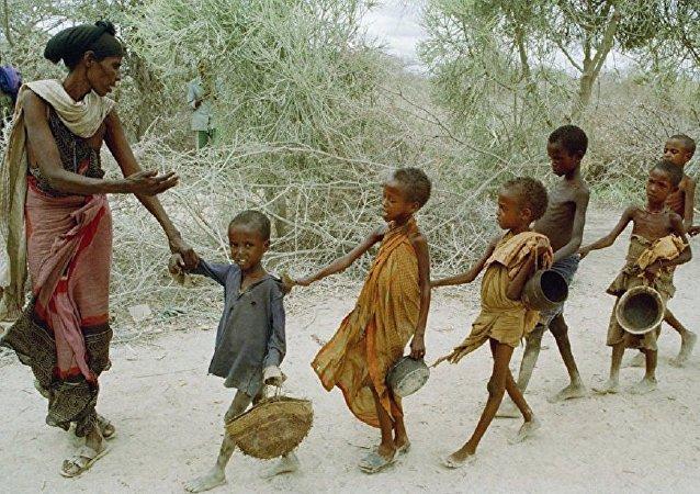 联合国儿童基金会:索马里饥饿儿童数量到年底将增至140万人