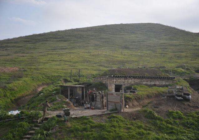 阿塞拜疆国防部称过去一昼夜内卡拉巴赫地区110次违反停火制度